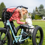 ENVO conversion Kit tricycle woman and dog